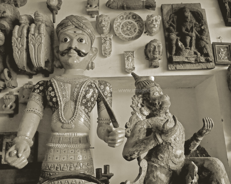 Antique Lives -The King and Hanuman #2_2009